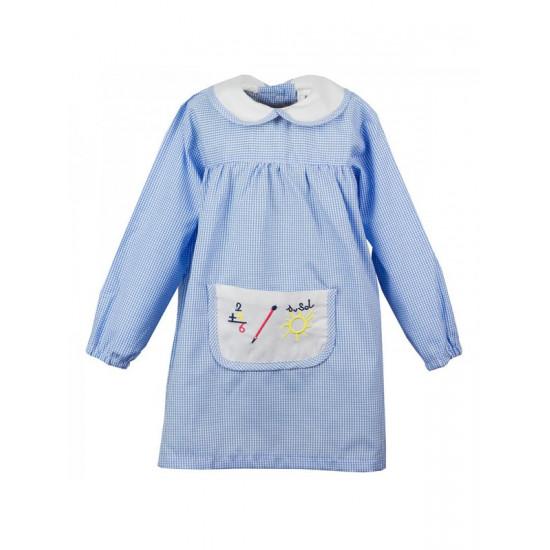 1315 AZUL baby bebe botones detras